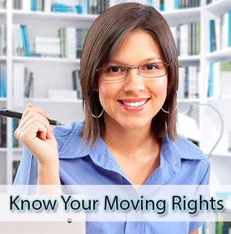 Know your moving rights in advance