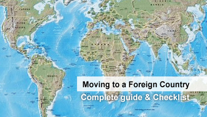 Moving to a Foreign Country – a Complete Guide and Checklist