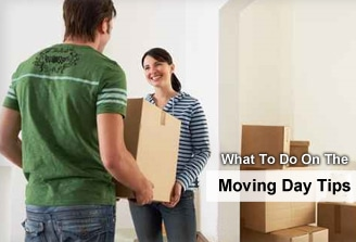 What to do on moving day tips