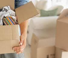 Efficient moving home and packing