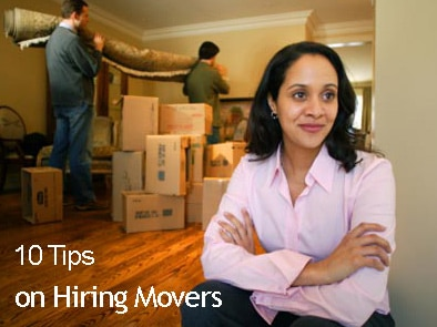 10 Tips for Hiring Movers
