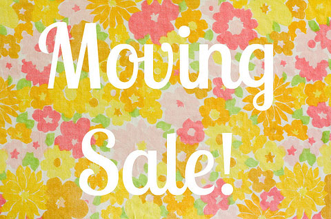 Moving Sale – Tips & Ideas