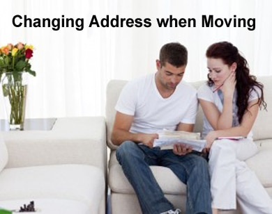 Change of Address when Moving – How & What?