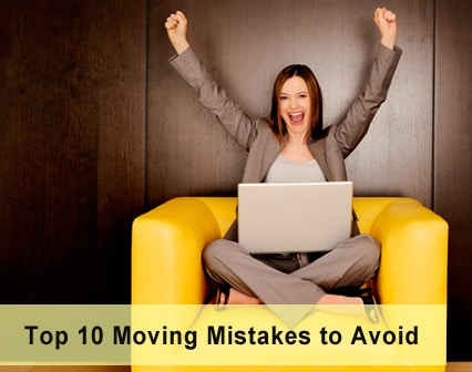 Top 10 Expensive Moving Mistakes You Can Easily Avoid