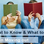 What to do when moving out