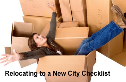 Relocating to a New City Checklist