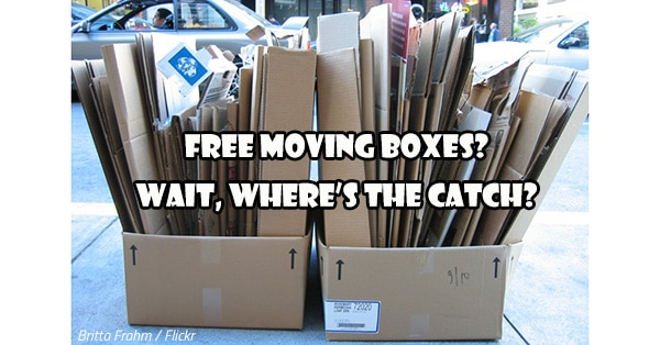 Free moving boxes? Wait, where's the catch?
