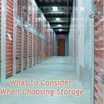 What to consider when hiring storage