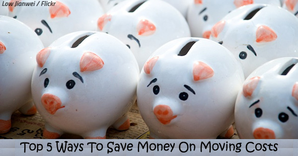 Top 5 Ways To Save Money On Moving Costs