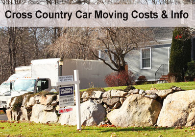 Moving a Car Cross Country – Costs & Info