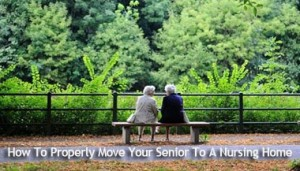 Moving Seniors to a Nursing Home
