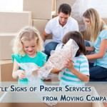 Moving with your family and using professional mover