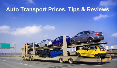 Auto Transportation Prices, Tips & Reviews