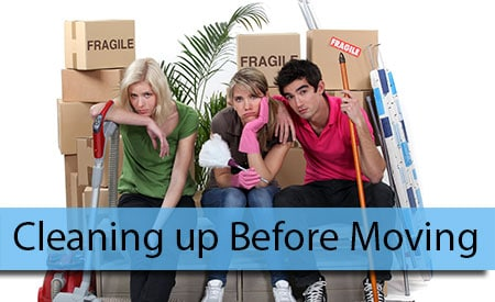 Cleaning up Your Former Home Before Moving