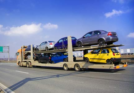 open type of car shipping