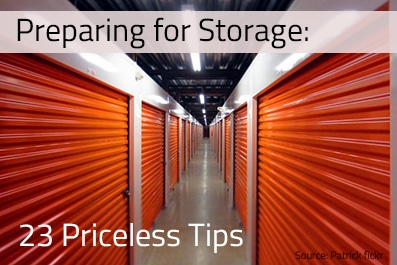 23 Priceless Tips on Preparing Items for Storage