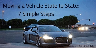 How to Move a Vehicle from State to State in 7 Simple Steps