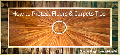 How to Protect Your Floors & Carpets for Moving