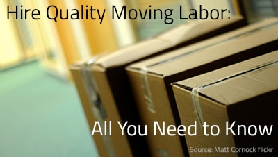 Hiring Quality Moving Labor – All You Need to Know