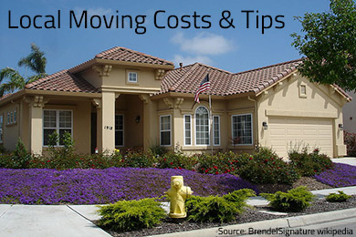 Moving Locally Tips & Local Moving Costs