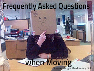 Movers F.A.Q. – Frequently Asked Questions when Moving