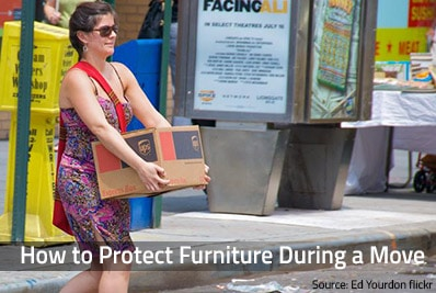 Safe furniture packing