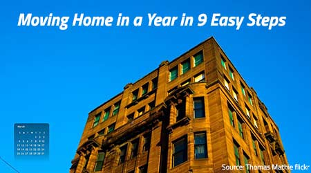 How to Move Your Home Within a Year in 9 Simple Steps