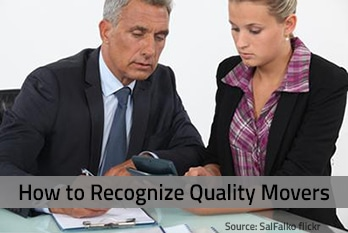 Recognize quality movers