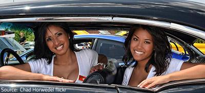 Automobile move