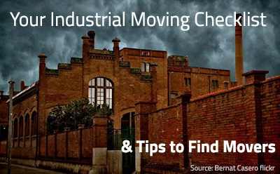 Industrial Moving Checklist & Companies