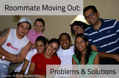 Roommate Moving Out – Problems & Solutions