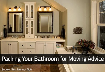How to Pack a Bathroom for Moving