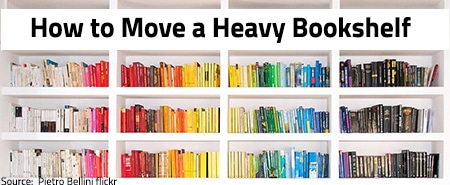 How to Move a Heavy Bookshelf in 3 Simple Steps