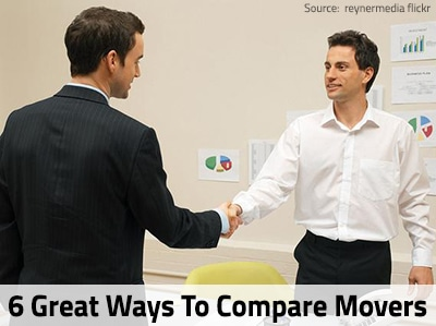 6 Great Ways to Compare Moving Companies