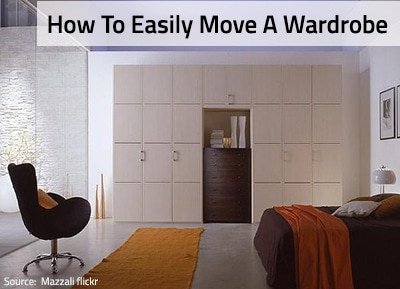 Moving a Wardrobe Easily to Your New Home