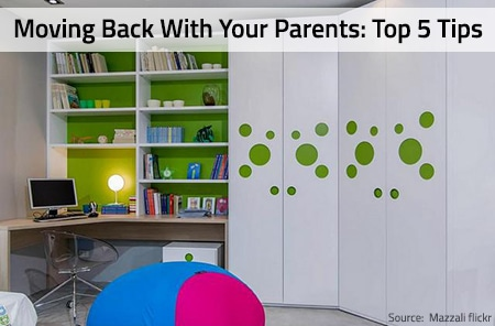 Top 5 Tips: How to Live With Your Parents Again