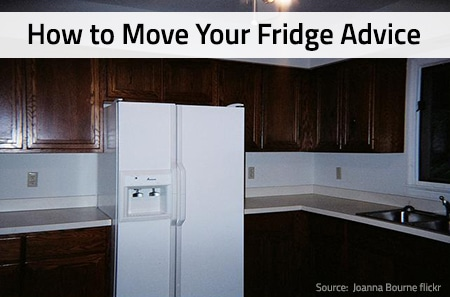 How to Move Your Refrigerator