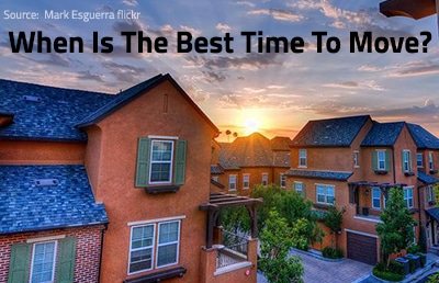 What Is The Best Time To Move Home?