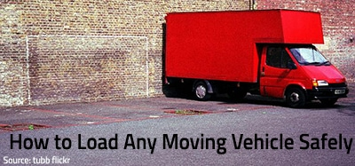 How to Load a Moving Truck, Trailer or Van