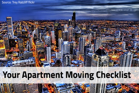 Moving To An Apartment For The First Time Checklist