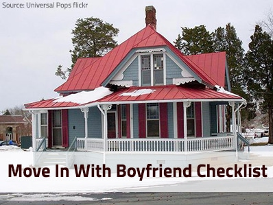 Moving In With Your Boyfriend – Your Ultimate Checklist With Tips