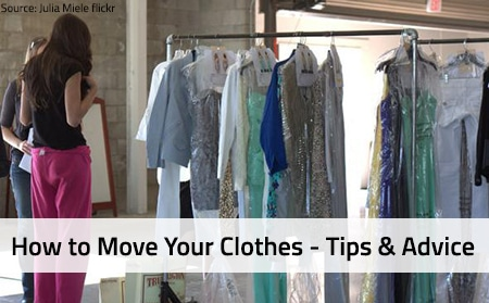 How to Move Your Clothes Tips