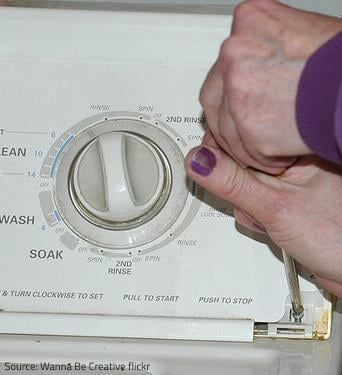 Washer disassembly