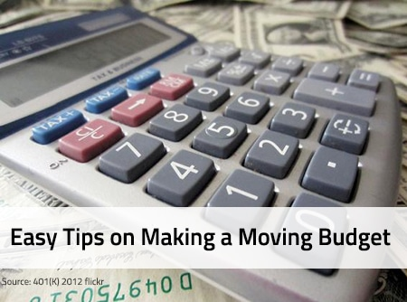 How to Make a Moving Budget