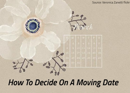 Deciding On A Moving Date