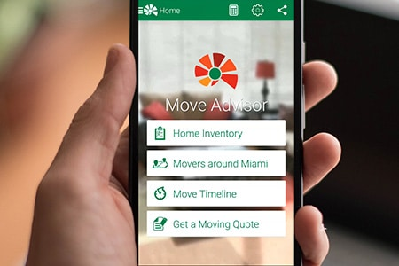 The only moving app you will ever need to organize your move the right way!