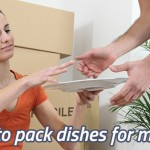 How to pack dishes for shipping
