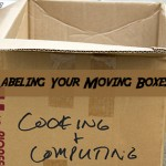 How to label moving boxes