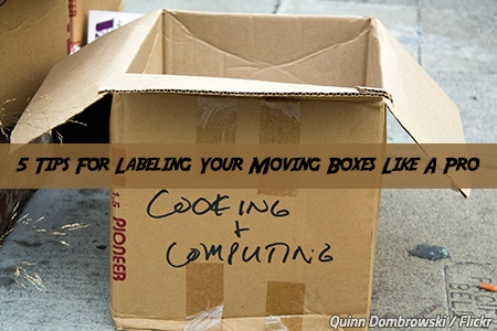 How to label your moving boxes