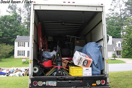 DIY moving house tips